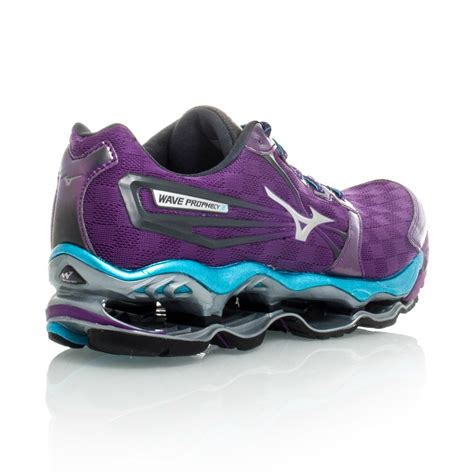 mizuno wave prophecy running shoes mizuno wave prophecy 2 womens running shoes purple