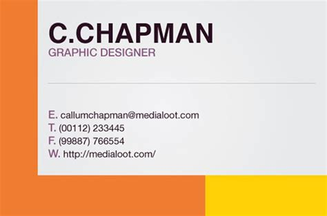 business card template illustrator cs4 how to create a colorful business card template in