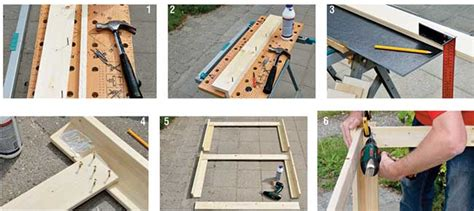 costruire un tavolo da giardino tavolo da giardino fai da te con cucina tutti i passaggi