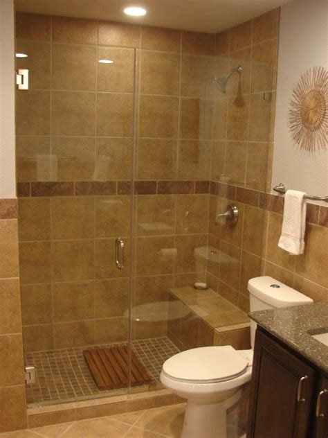 Walk In Shower Bathroom Designs Tile Showers With No Doors