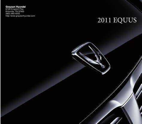 Grayson Hyundai Knoxville by 2011 Hyundai Equus Grayson Hyundai Knoxville Tn