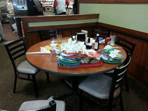golden corral room empty bins and tables picture of golden corral garland tripadvisor