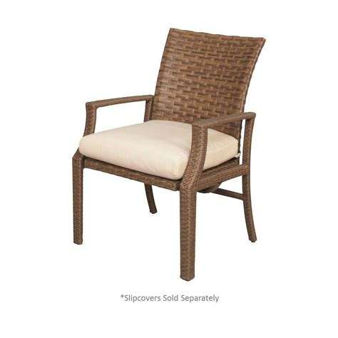 motion patio chairs hton bay tobago patio motion dining chair with cushion
