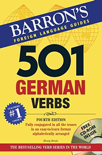 501 German Verbs With Cd Rom 501 Verb Series