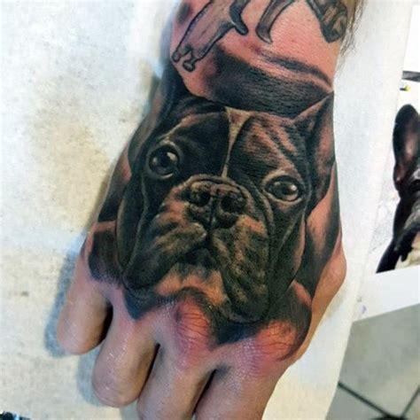 tattoo inspiration on hand 100 dog tattoos for men canine ink design ideas part two