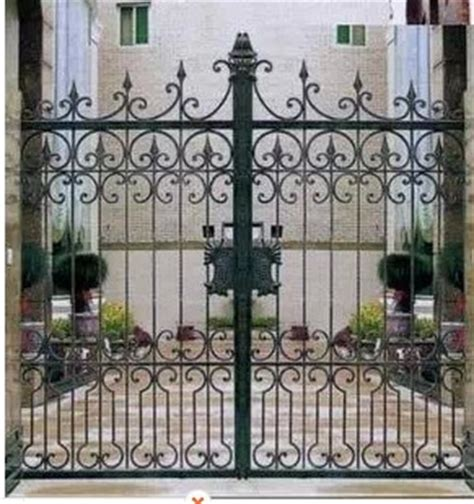 creative wrought iron patio doors wickets garden gate iron