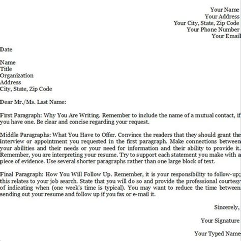 cover letter template for application free sle cover letters pcmech