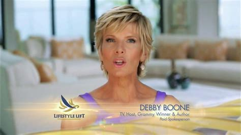 debby boone shill for lifestyle lift lifestyle lift tv spot looks years younger featuring