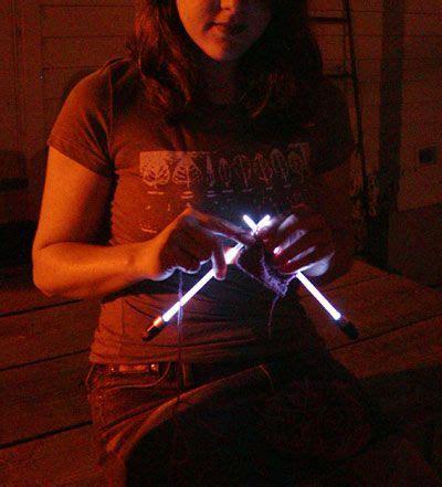 knitting needles with lights needlelite lighted knitting needles us size 8 1