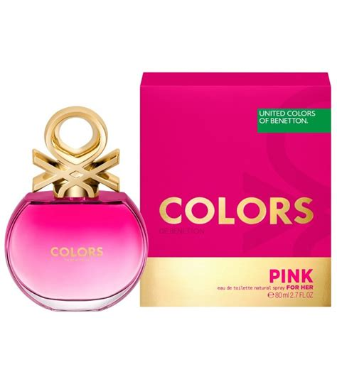 Benetton Pink benetton colors pink edt of benetton