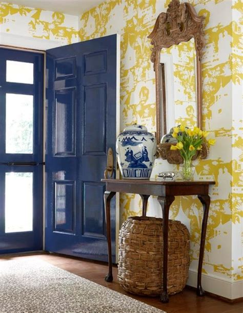 entry way ideas shave paint decor entryways make a bold statement