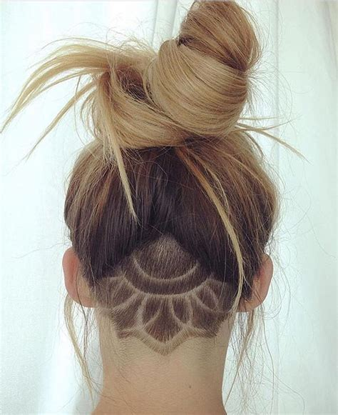 lady neck hair 1000 ideas about undercut designs on pinterest undercut