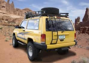 gobi jeep xj ranger tire carrier roof rack