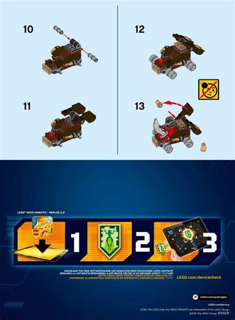 Lego 30374 Nexo Knights The Lava Slinger lego lava slinger 30374 nexo knights