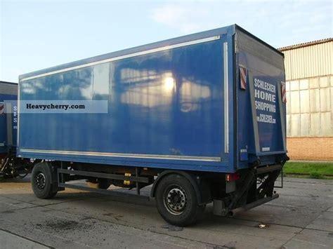 Rak Rv rohr rak 18ci isokoffer 2004 box trailer photo and specs