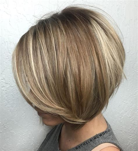 fine blonde highlights 100 mind blowing short hairstyles for fine hair brown