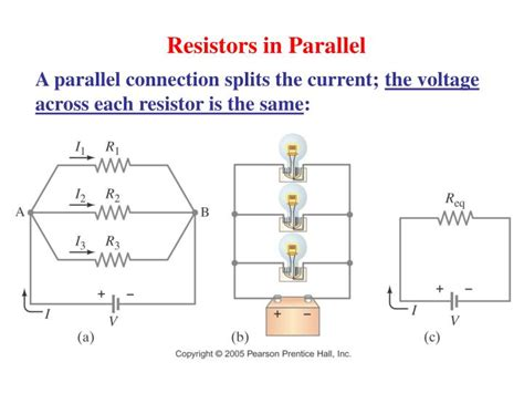 resistors in parallel same current ppt physics mr baldwin electricity september 12 2014 powerpoint presentation id 4283386