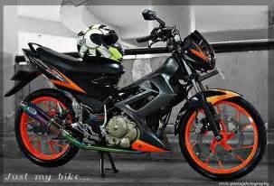 Suzuki Satria F 150 Motorcycle Review S Suzuki Satria F 150 2008 Black Orange