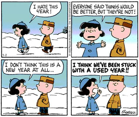 new year comic strips halfway there comics crushed on the wheel of time