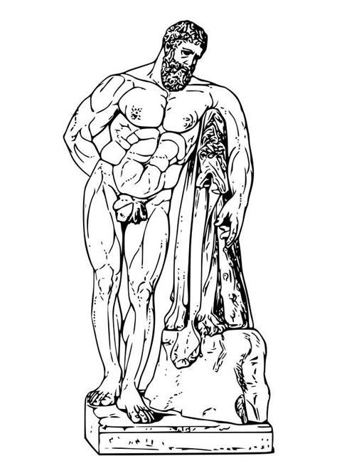 Dibujo para colorear Hercules - Img 18605