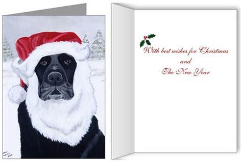 Gift Card Lab - labrador retriever christmas cards ornaments decor