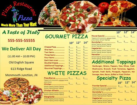 free menu design templates free menu template word excel pdf
