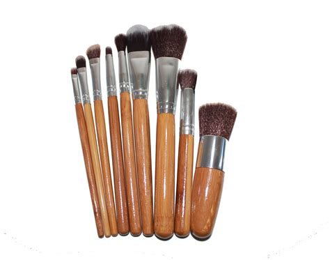 Bambo Set by Bamboo Makeup Brush Set Affordable Mineral Makeup