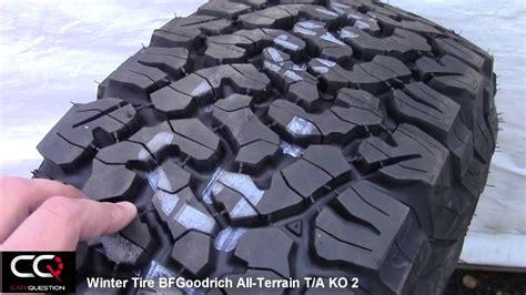 winter tire review bfgoodrich  terrain ta ko simply     truck youtube