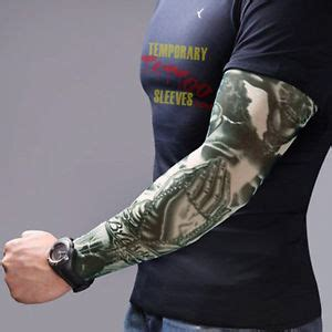 tattoo prices uk sleeve 2x fake tattoo sleeve cloth arm design party sleeves fancy