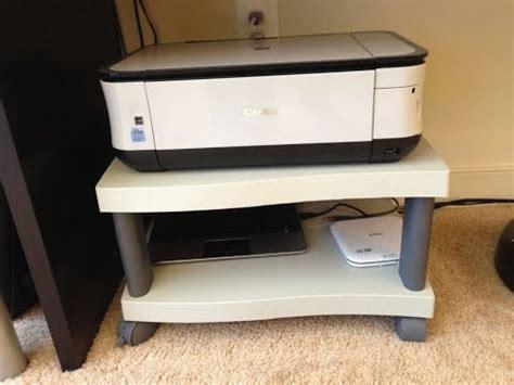 desk printer stand ideas