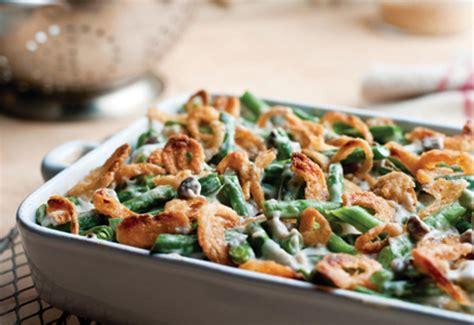 green kitchen recipes cbell s kitchen green bean casserole recipe just a