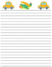 Writing Papers For Students Free Printable Stationery For Kids Free Lined Kids