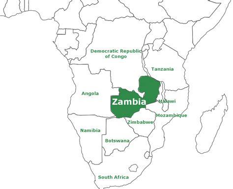 lusaka zambia map facts on zambia discover zambia