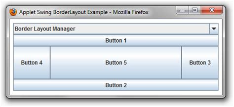 default layout manager for panels and applets jade cheng java applet tutorial