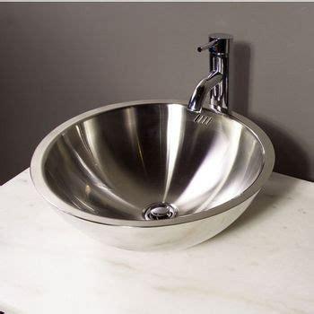 metal bathroom sink bathroom sinks stainless steel vessel bathroom sink by cantrio koncepts