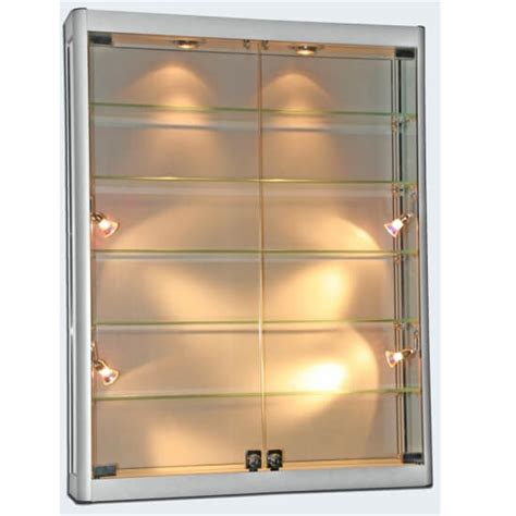 wall mounted display cabinets 1000mm w wall mount glass display cabinet led wm10
