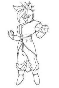 drawings dragon ball characters az coloring pages