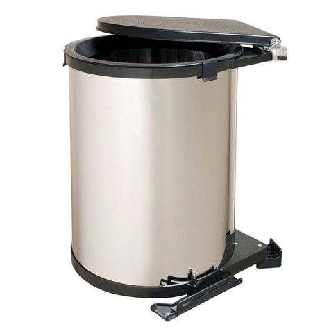 Cabinet Trash Can Home Depot by Real Solutions For Real 20 In H X 14 In W X 13 In