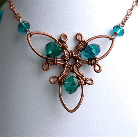 wire wrapped pendant tutorial tutorial triquetra wire wrapped trifoil necklace