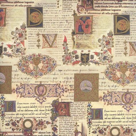 Italian Decoupage Paper - illuminated manuscript italian paper kartos italy