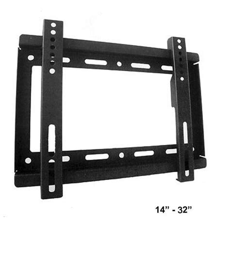Bracket Tv Lcd Led 14 Inch 32 Inch 1 buy maxicom universal flat wall mount for 14 inch to 32