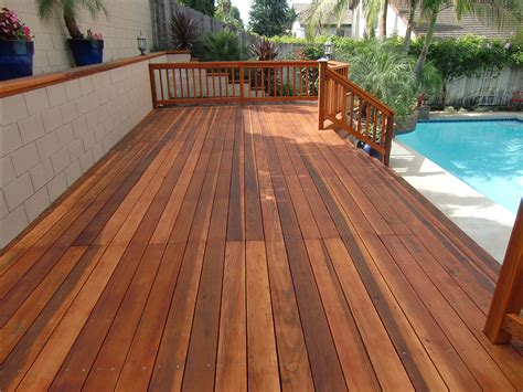 redwood deck restoration