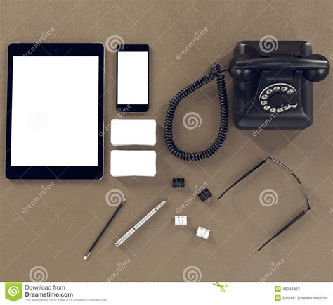 mockup graphic design definition mockup business template stock illustration image 48044963