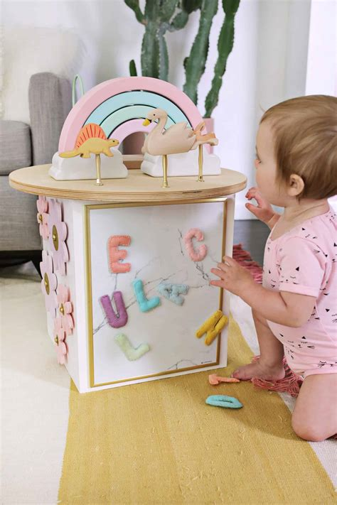 diy for toddler activity center diy a beautiful mess