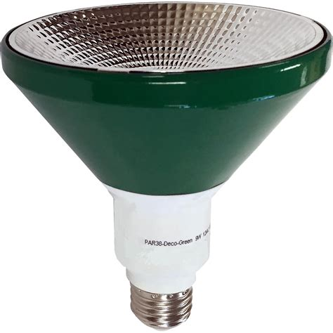 par38 green led flood light illumin8 i8par38 deco gr par38 green led light bulb non