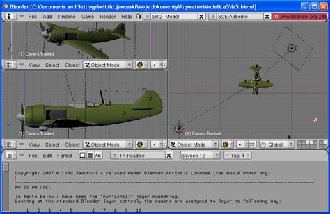 blender tutorial aircraft virtual aircraft what i have used