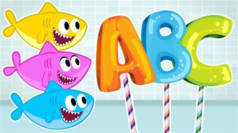 baby shark abc baby shark abc time song more nursery rhymes cartoons