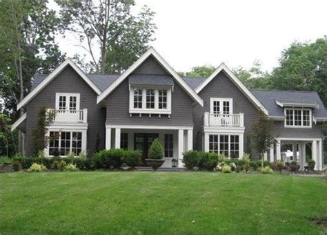 home exteriors pratt and lambert wendigo house exterior white trim gray siding found on