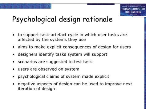 design evaluation definition hci chapter 6