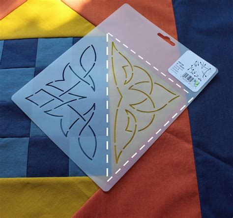 How To Use Quilting Stencils by How To Use Stencils For Quilting The Crafty Quilter